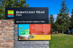 Burntcoat Head Park sign