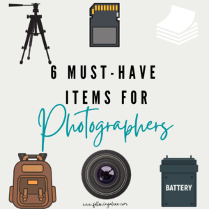 must-have items for photographers