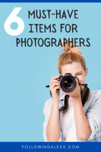 must-have items for photography