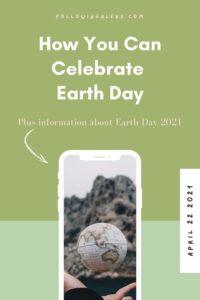 earth day 2021 pin