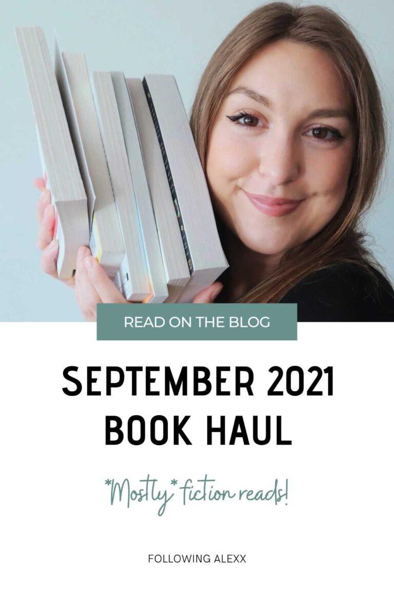 September 2021 Book Haul